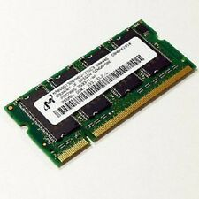 Ref Micron 256mb Ram Laptop Memoria Ddr Sodimm 333mhz Cl2.5 Pc2700s-2533-0-a1