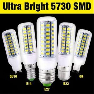 Blanc Détails Ampoule Smd E27 E14 Led 5730 Chaudfroid Lamp B22 G9 Maïs Sur 360° 220v Gu10 76yfIbvmYg
