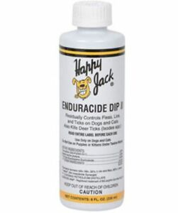 HAPPY-JACK-Enduracide-Dip-II-8-oz-Fleas-Lice-Ticks-Dog-Canine-Smaller-Breed