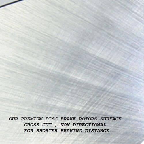 Rear Brake Rotors For Toyota RAV4 2006-2018 Lexus HS250h 2010-2012