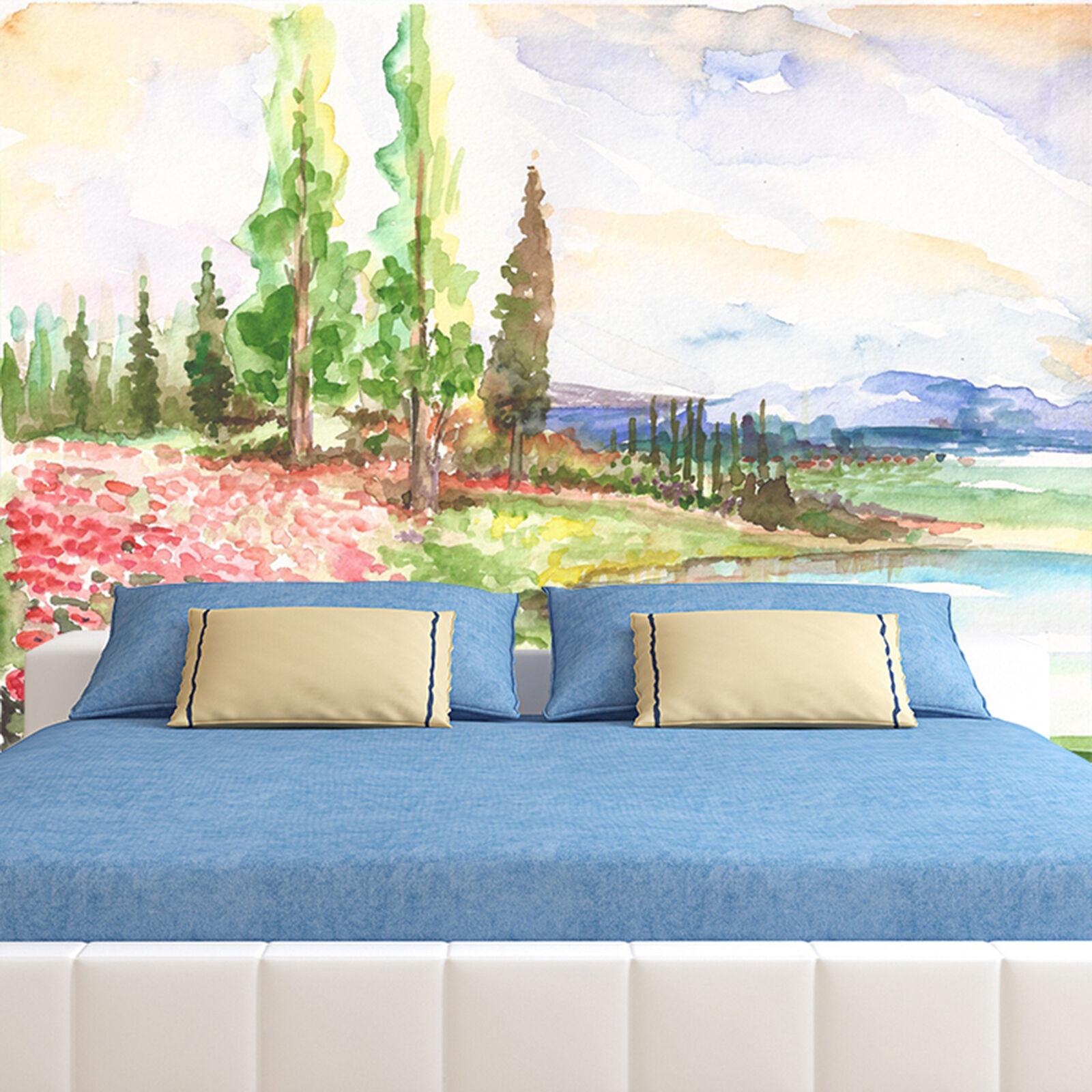 3D Gemälde 7895 Fototapeten Wandbild Fototapete Bild Tapete Familie Kinder DE