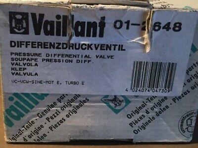VAILLANT 012648 01-2648 DIFFERENZDRUCKVENTIL VC VCW 180-280 SINE MOT E TURBO E