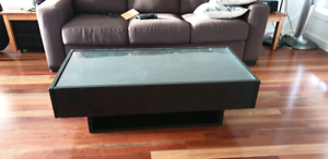 Ikea Ramvik Coffee Table With Side Drawers Ebay