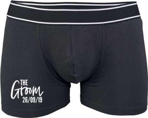 Groom Boxer Trunks Groom Personalised Boxer Shorts Groom Underwear Briefs
