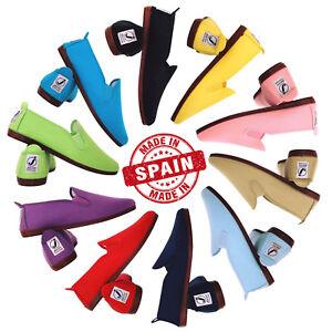 Zapatillas-Lona-para-Mujer-Javer-Kung-Fu-Flossy-Style-Plimsoll-Plimsole-Pumps