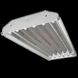 Non-shunted Sockets Lamp F32T8 High Bay Light Fixture LED Ready 6 Bulb