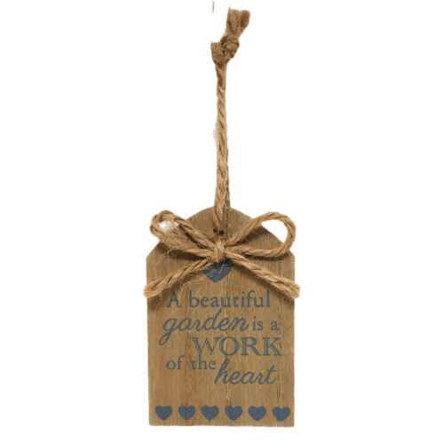 Gardeners Wooden Hanging Plaque Outdoor Novelty Allotment Garden Therapy Sign