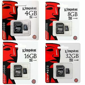 tarjetas de memoria kingston 8gb