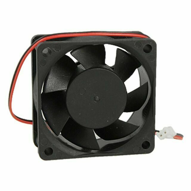 Rarido 60mm x 25mm DC 12V 0.25A 2Pin Cooling Fan for Computer Case CPU Cooler