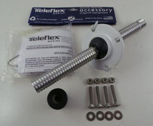 M20 Genuine Teleflex Seastar Morse Splashwell Kit 90 Degree Boat Steering