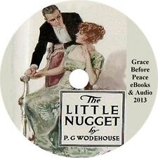 The Little Nugget, P. G. Wodehouse Kidnap Action Schemes Audiobook on 1 MP3 CD