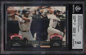 1992-Stadium-Club-Members-Only-Gary-Sheffield-Fred-McGriff-Mint-BGS-9-Subs-9-5