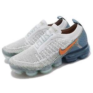 8ebec7e9ef7a Nike Wmns Air Vapormax FK MOC 2 Flyknit Silver Orange Women Shoes ...