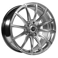 18x8 Rims Advanti Racing Svelto 5x112mm +35 Titanium Wheel Fits Audi A4 A5 A6 A8
