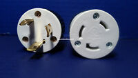 30 Amp 250 Volt Male Female Twist Lock 3 Wire Power Cord Plug Nema L6-30p L6-30r