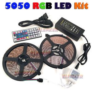 3528-5050-5M-10M-RGB-SMD-300-Led-Waterproof-Tape-Roll-Strip-Light-12V-Waterproof