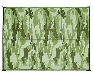 6x9 mat rug outdoor carpet reversible rv trailer camo camping camper
