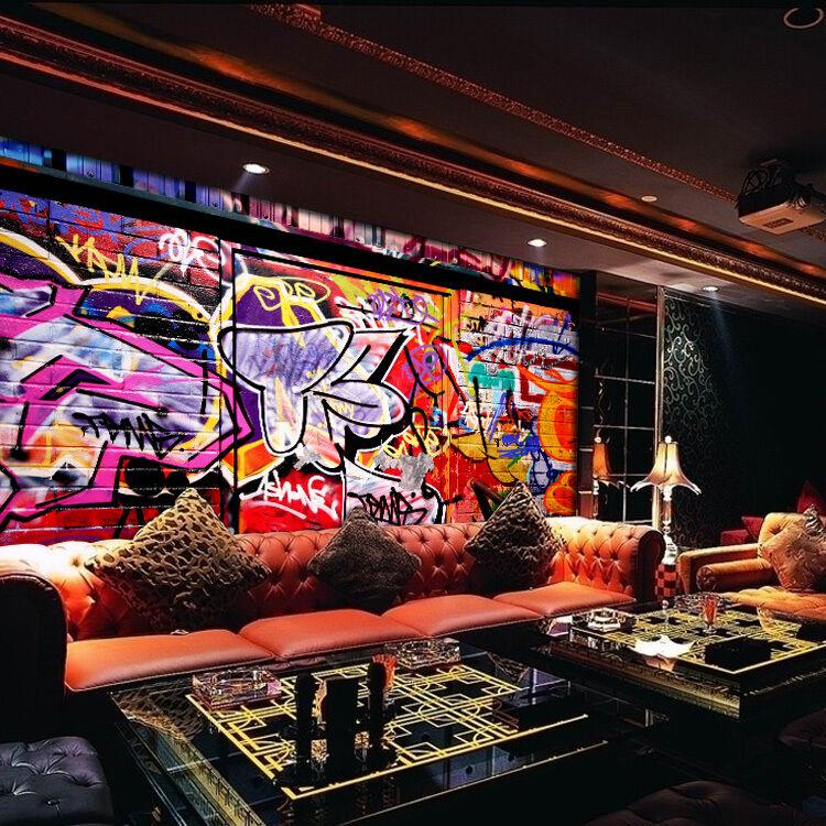 3D Knallfarben 344 Fototapeten Wandbild Fototapete BildTapete Familie