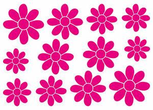 Details Zu Blumen Aufkleber Deko Sticker Blume Flower Wandtattoo Möbel Retro Küche Auto Bad