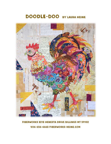 Quilt Pattern ~ DOODLE-DOO ~ by Laura Heine Fiberworks