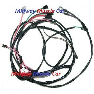 engine wiring harness v8 w/ hei chevy pickup truck suburban 57 58 59 | ebay  ebay