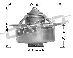 Fairlane 11//70-3//72 5.8L Carb ZD 351ci DAYCO Thermostat High Flow Cleveland