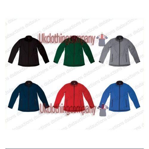 SG Soft Shell Jacket - Szélálló és vízálló - Fleece Bélés - S M L XL 2XL 3XL