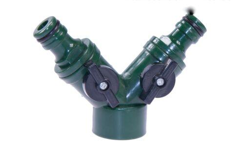 zu GARDENA 2-Wege Ventil KN Verteiler Schnellkupplung Schlauchkupplung komp