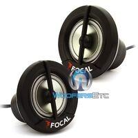 (2) Focal Tn-42 1 Car Audio Tweeters Pair Tn42