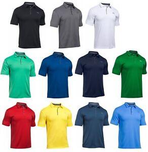 nitrógeno banjo Odia  Under Armour UA Tech Polo Mens Golf Shirt 1290140 - 2020 FREE SHIPPING &  RETURNS | eBay