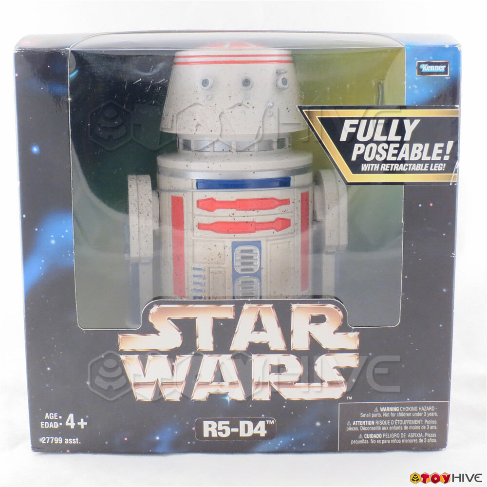 Star Wars Action Collection R5-D4 fully poseable 12 inch scale figure by Kenner