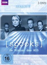 Spooks Complete BBC Series Season 3 Keeley Hawes, Peter Firth NEW [3 DVD] R2 UK