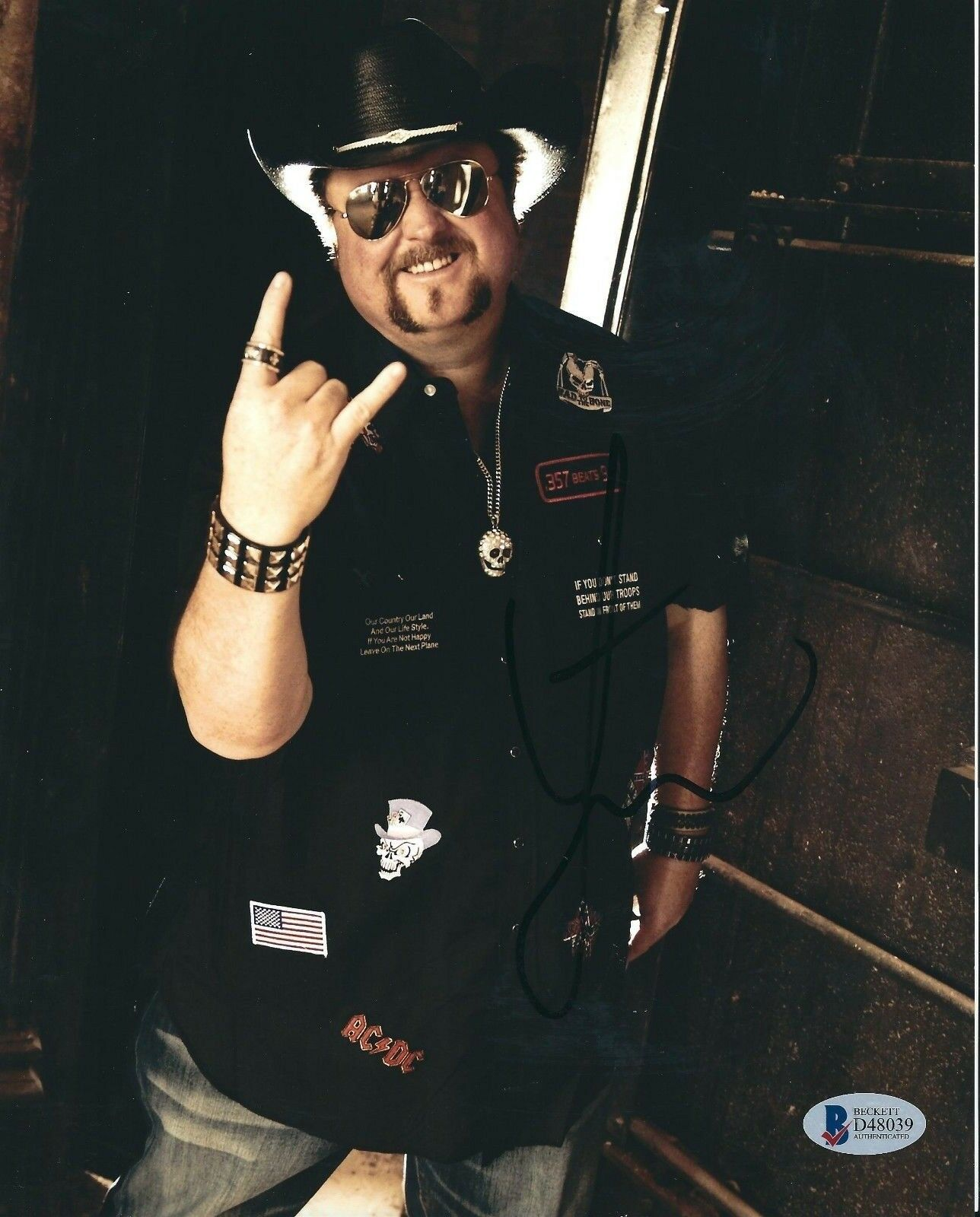 Colt Ford Signed 8x10 Photo *Dirt Road Anthem *Country Rapper BAS D48039
