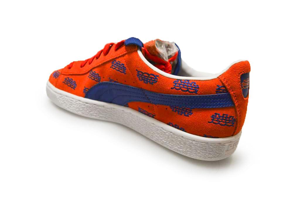 Herren Puma Basket Dee Dee Dee  Ricky NYC - Surf The Web - 36200401 - Orange Blaub Weiß 54f3a8