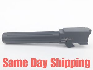 Details about Lone Wolf AlphaWolf Barrel For Glock 20 Conversion 2 40S&W  Stock Length AW-2040N