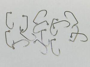 12,10,8,6,4 or 2 1000 EAGLE CLAW 570 Bronze Aberdeen Jig Hooks DO IT Molds Sz