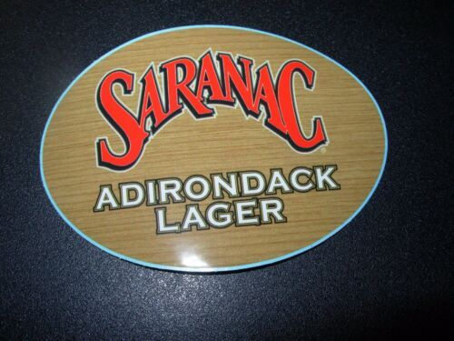 SARANAC Adirondack Lager Decal Black Forest STICKER craft beer brewery brewing