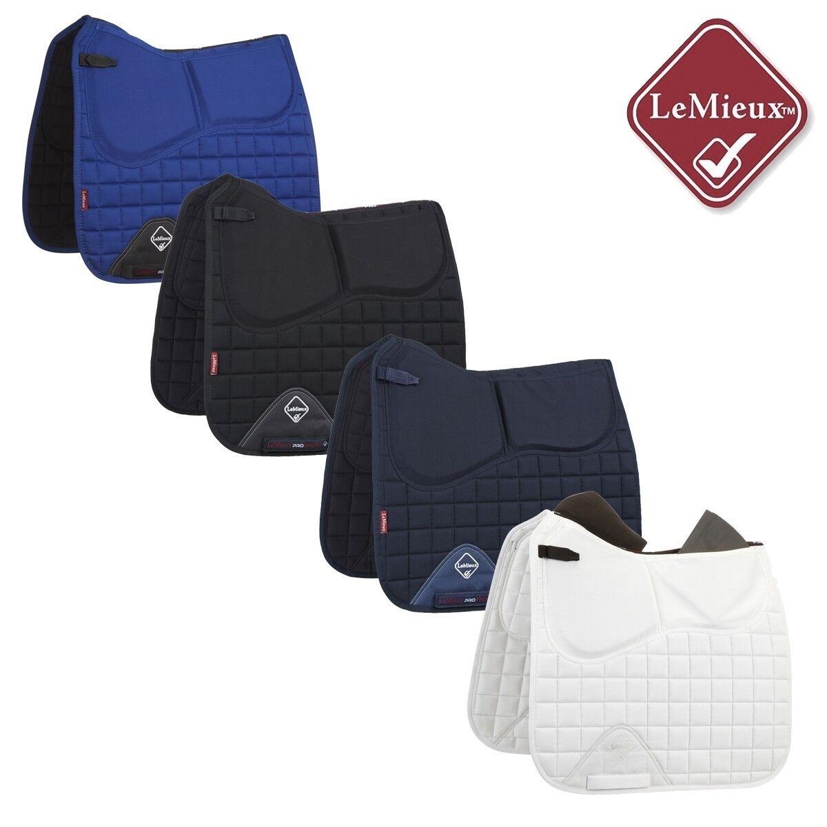 %TOP-ANGEBOT  LeMieux Pro-Sorb Plain Dressur Korrektur Schabracke 4 Farben Farben Farben -NH 8c6957