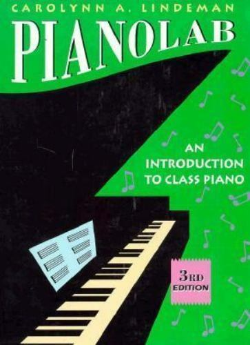 PianoLab : An Introduction to Class Piano by Lindeman, Carolynn A.