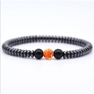 8mm-Fashion-Women-Men-Rock-Lava-Stone-Silver-Buddha-Beaded-Round-Charm-Bracelets