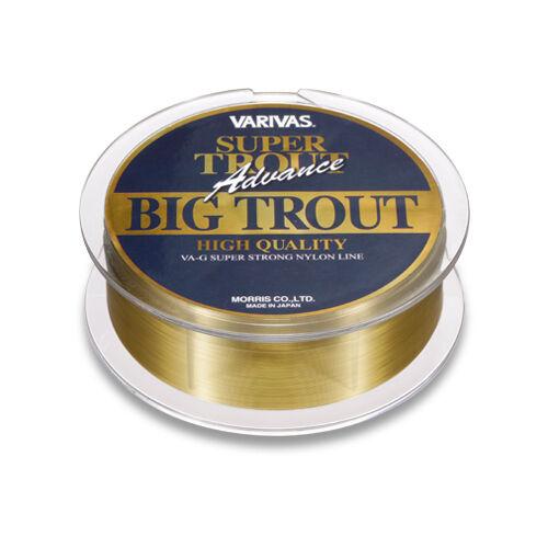 VARIVAS SUPER TROUT Advance BIG TROUT 150m Nylon Line. Status gold