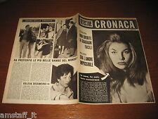 RIVISTA DETECTIVE CRONACA=1961/17=VERONIQUE=DELITTO ORISTANO=POMIGLIANO D'ARCO=