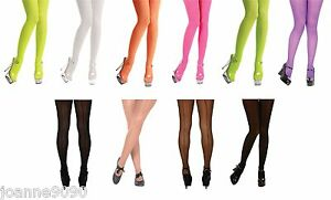 NEW-OPAQUE-ADULTS-LADIES-WOMENS-HALLOWEEN-FANCY-DRESS-COSTUME-ACCESSORY-TIGHTS