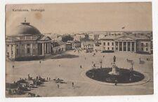 Sweden, Karlskrona, Stortorget Postcard, B147