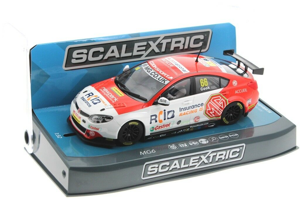 Scalextric 3863 3863 3863 BTCC MG6  66 2016 HD    Elegante Und Stabile Verpackung  699d77