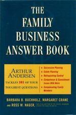 The Family Business Answer Book by Buchholz, Barbara B., Crane, Margaret, Crane