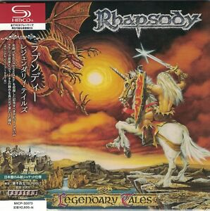 RHAPSODY-Legendary-Tales-Japan-Mini-LP-SHM-CD-Luca-Turilli