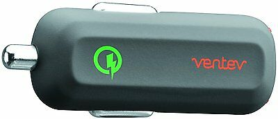Ventev dashport rq1240 Mini Quick Charge 2.0 Car Charger w/ A to C USB Cable,