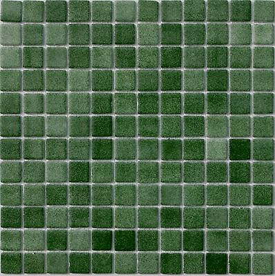5 COLOURS RECYCLED GLASS FOGGY EFFECT MOSAIC TILE SHEETS