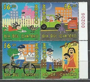 Mexico Mail 2007 Yvert 2314/7 MNH
